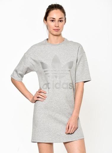 Kısa Kollu Mini Elbise-adidas